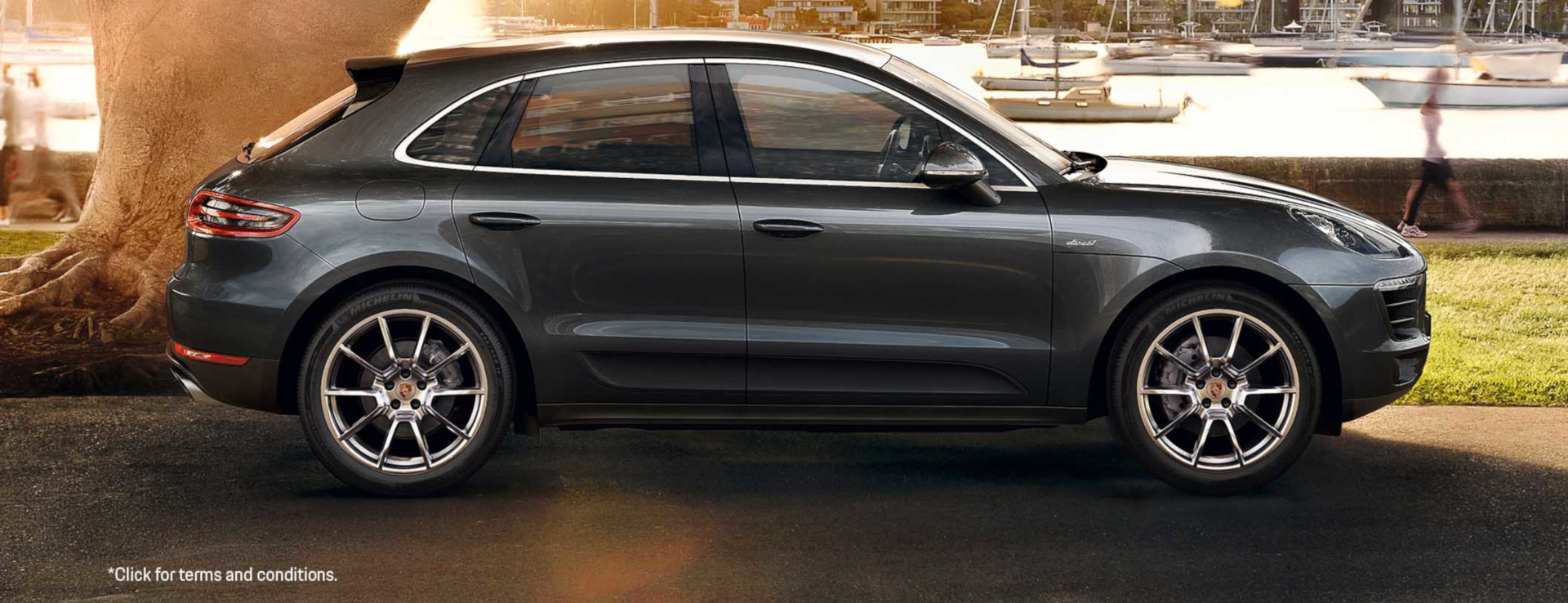 The Macan S Diesel. From $1,198 per month*.
