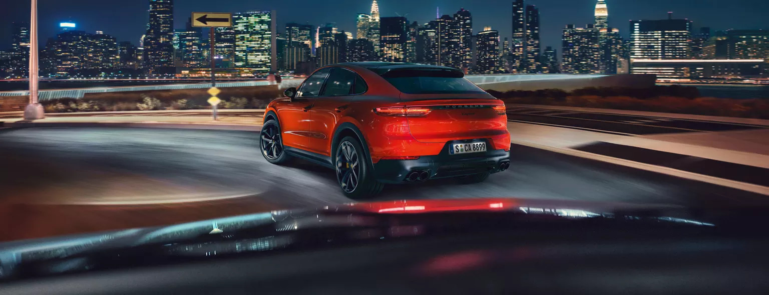 Shaped by performance- The new Cayenne Coupé